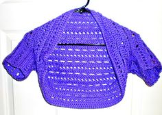 A Little Loopy, But I'm Hooked: Dots and Dashes Bolero/Shrug free pattern through Ravelry