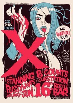 Last of the X Posters.  by Sam McKenzie