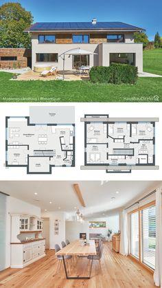Small House Floor Plans, Dream House Plans, Living Haus, House Outside Design, House Construction Plan, Sims House Design, Cottage Style House Plans, Architectural House Plans, Arch House