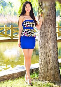 Hundreds of gorgeous pictures: cute Asian woman Xiao Yu from Harbin