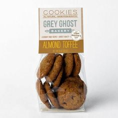 Great right out of the bag, our buttery gourmet cookies combine decadent almond toffee hailing from one of our favorite local confectioners - Dottie's Toffee.