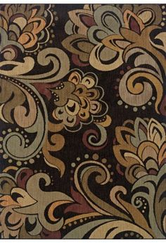 Oriental Weavers Palermo Collection 2848c Contemporary Black Rug
