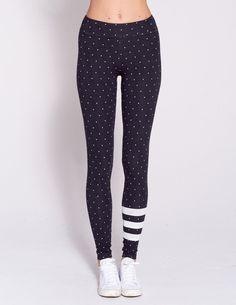 617d4f17feb8 Sundry Stripe & Dots Yoga Pants. Yoga Pants. BLISS BANDITS