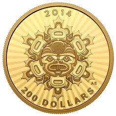 1/2 oz. Pure Gold Coin - Interconnections: Land - The Beaver - Mintage: 1,500 (2014)