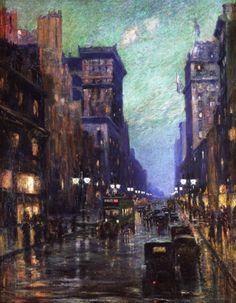 5th Avenue at Twilight