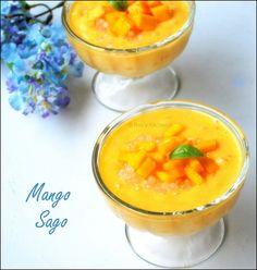 Mango Sago-my favorite Chinese dessert