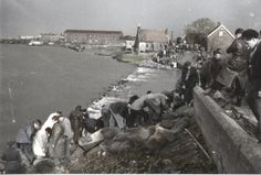 1953 watersnoodramp / flood disaster Netherlands