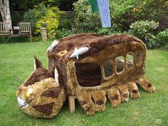 Catbus Cat Bed - from Totoro 3 by RachelBrownoid.deviantart.com on @deviantART