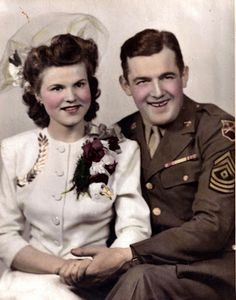 Wedding day, 1944