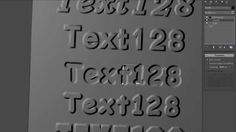 3D text in 3ds Max