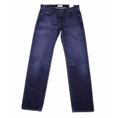 Hawksmill Denim Hawksmill Denim - Blue Regular Tapered Organic Jeans: Hawksmill's Regular tapered fit jean has a low to mid rise with a slightly slimmer leg measurement than their loose fit. Available in Dark Wash or Mid Blue.
