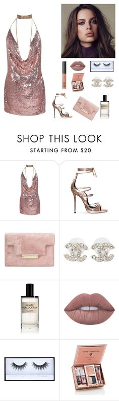 """""""ill kiss u somehow...💋"""" by seniora ❤ liked on Polyvore featuring Chanel, NARS Cosmetics, D.S. & DURGA, Lime Crime and Huda Beauty"""