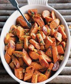Roasted Spiced Carrots Recipe!