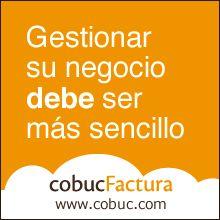 Banner de cobucFactura.  Facturación en la nube