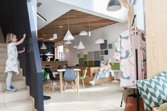 Playful Coffee Shop Draws Parents in Poland - http://freshome.com/playful-coffee-shop-poland/