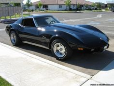 1975 Chevy Corvette Stingray - Want one.
