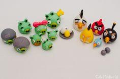 Fondant Angry Birds!