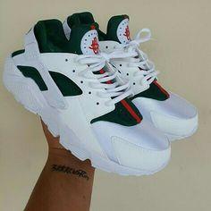 "Nike (Huarache) ""White Gucci"""
