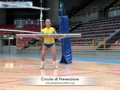 #Volleyball - #Workou : circuit training for athletic training in volleyball 12 stations for 30 seconds of work