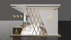 Khalis Perfume Proposed Design on Behance Kiosk Design, Facade Design, Retail Design, Exterior Design, Exhibition Stall Design, Showroom Design, Exhibition Stands, Exhibit Design, Ceiling Design