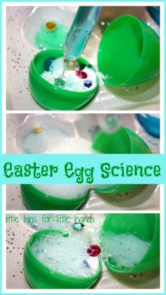Fizzy Eggs Easter Baking Soda Science Experiment