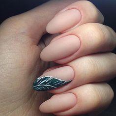 Round nails.