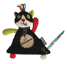 http://www.farmaconfianza.com/deglingos-mantitas-mochilas-munecos/deglingos-mantita-gato-charlos-28cm #Deglingos #gato #charlos