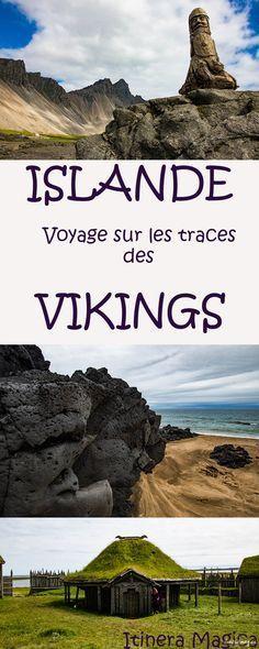 L'Islande est le pays des vikings. Partez sur les traces du peuple légendaire du nord, entre histoire et légende. Découvrez les lieux mythiques, l'exotique Viking Café, la forteresse Borgavirki, la péninsule de Snaefellsnes, et bien d'autres endroits magiques qui évoqueront l'héritage des vikings en Islande. Places Around The World, Around The Worlds, Vikings, Iceland Island, Destinations, Voyage Europe, Destination Voyage, Cheap Travel, Adventure Is Out There