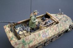 Missing Links Gallery Mike Neal Sdkfz 251/9 Ausf D
