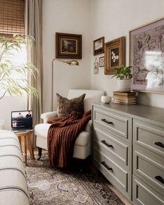Home Bedroom, Bedroom Decor, Master Bedroom, Bedrooms, Living Room Decor, Living Spaces, Dark Living Rooms, Passion Deco, My New Room