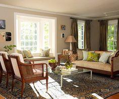 Living room windows to bay window?