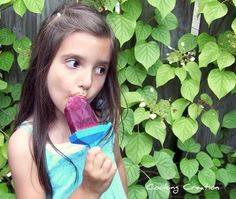 September 2 is National Blueberry Popsicle Day