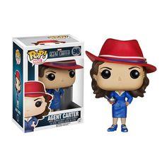 Agent Carter Pop Heroes Bobble-Head Vinyl Figure