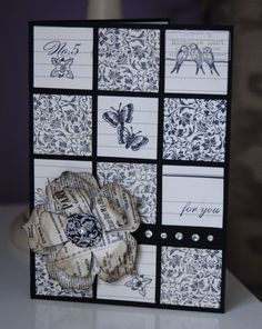 Pretty Card using Clearly for you from the Stampin Up mini catalogue....... - Stampin Up Demonstrator Michelle Last