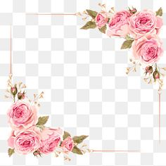 Flowers Png Clip Art Wedding Invitations 60 Ideas For 2019 Flower Frame Png, Rose Frame, Flower Art, Flower Clipart, Rose Clipart, Flower Invitation, Invitation Background, Clip Art, Plant Drawing