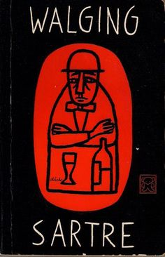 Jean-Paul Sartre, Walging [Nausea], Utrecht: A. W. Bruna, [196-]. Cover by Dick Bruna.