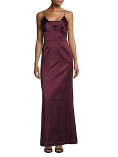 Shoulder Strap Back Vent Maxi Dress by BAILEY 44 at Gilt