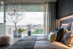 Apartments in Shades of Gray Full of Luxury and Comfort