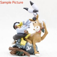 Tezuka Osamu Mini Vignette Diorama Figure  Wonder Three W 3 JAPAN ANIME MANGA