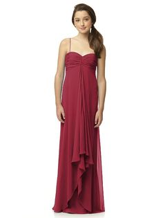 Junior Bridesmaid Style JR518 http://www.dessy.com/dresses/junior-bridesmaid/jr518/?color=burgundy&colorid=8#.UzObRIxOnFo