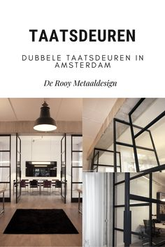 Dubbele taatsdeuren in stijlvolle woning Amsterdam Stairs, Home Decor, Ladders, Homemade Home Decor, Ladder, Staircases, Interior Design, Home Interiors, Decoration Home