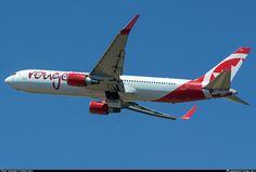 C-GHLQ Air Canada Rouge Boeing 767-333(ER)(WL)