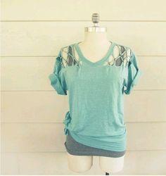 Μια μοντέρνα μπλούζα έτοιμη απο τα χεράκια σας!
