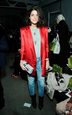 Los VIP de New York Fashion Week Otono Invierno 2013 - Leandra Medine