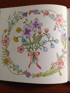 from Four Seasons A Coloring Book by Aiko Fukawa