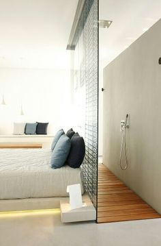 Pseudo ensuite possibility for upstairs bedroom?