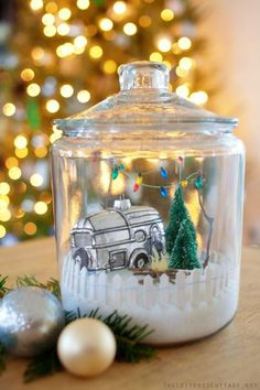 Cookie-Jar-Christmas-Craft-Epson-Salt-Picket-Fence-from-Hobby-Lobby1