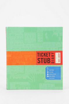 For all you ticket hoarders: Ticket Stub Diary! Super cute and easy way to store your tickets in sleeves with acid-free pages to keep them intact.