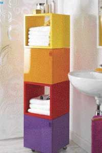 Build your own mobile cube tower