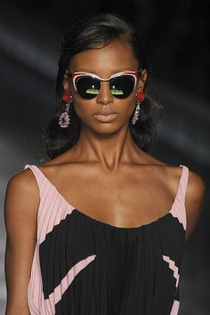 Cat-eye shades from Prada